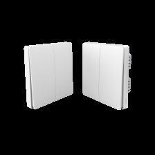 Выключатель света (две клавиши) - без нейтралью QBKG03LM
