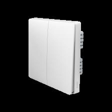 Выключатель света (две клавиши) - с нейтралью QBKG12LM