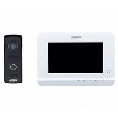 DHI-VTK-VTO2010D-VTH2020DW Комплект домофон + вызывная панель Dahua