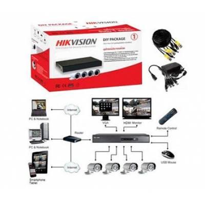 DS-J142I/7104HGHI-F1 (4 out) Комплект видеонаблюдения Hikvision
