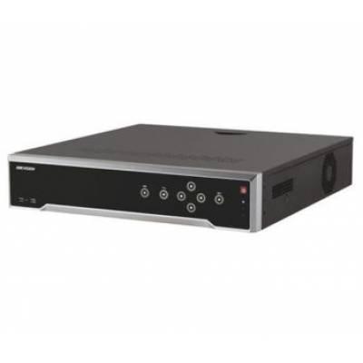 DS-7716NI-I4/16P 16-канальный 4K NVR c PoE коммутатором на 16 портов