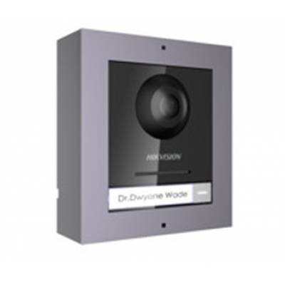 DS-KD8003-IME1/Surface Комплект модуля вызывной IP панели + накладная рамка